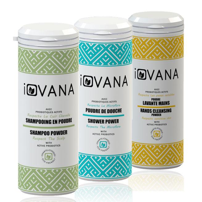 Pack découverte 3 produits iovana
